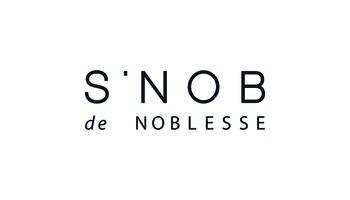 S'NOB de NOBLESSE Logo