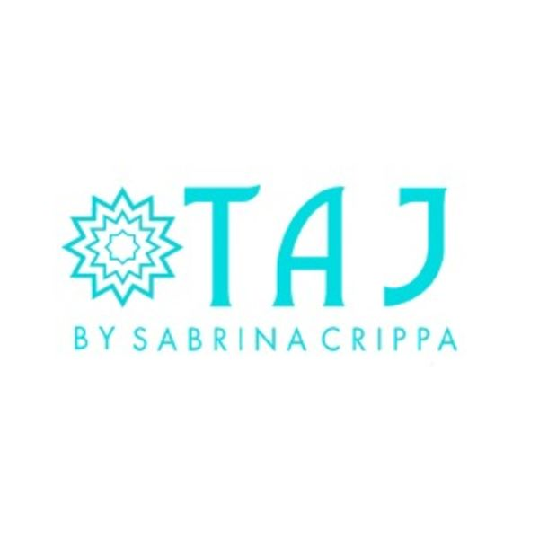 TAJ by Sabrina Crippa Logo