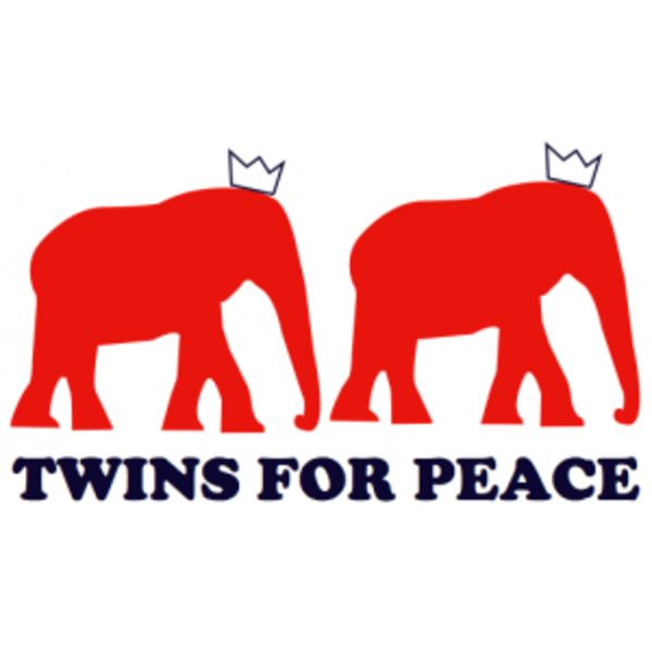 TWINS FOR PEACE Logo