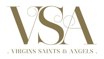 VIRGINS SAINTS & ANGELS Logo