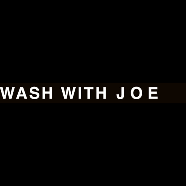 WASH WITH JOE Logo