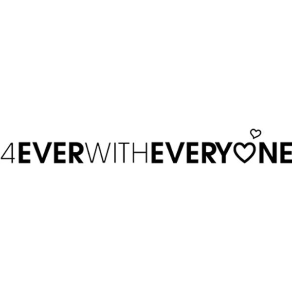 4EVER WITH EVERYONE Logo