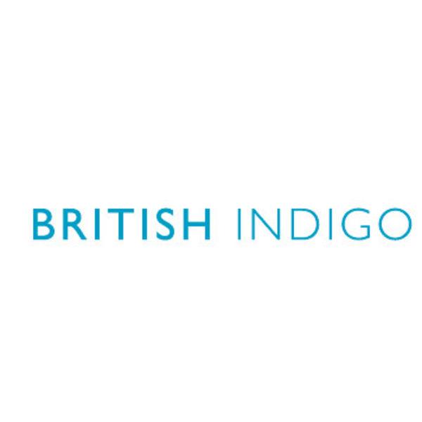 BRITISH INDIGO Logo
