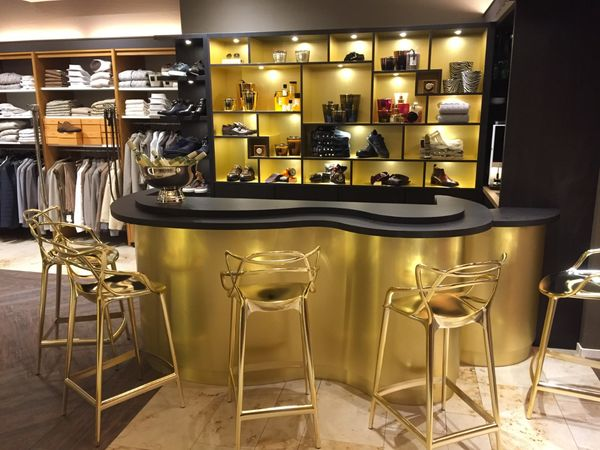Wine/coffee bar Jurgen Langezaal Classic store
