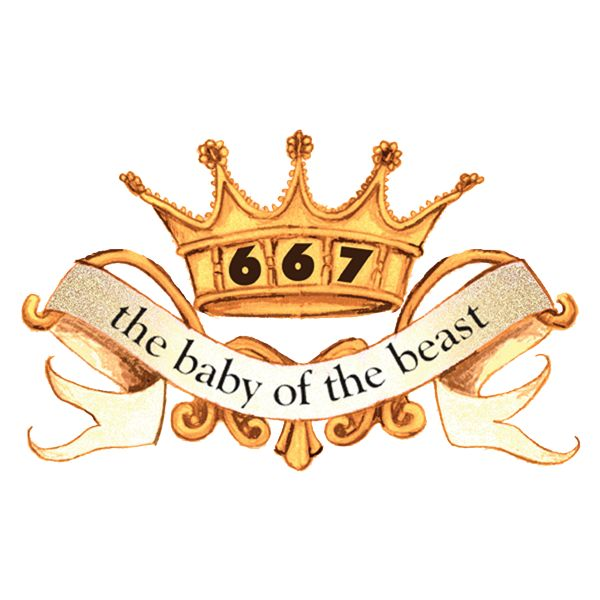 667 - the baby of the beast Logo