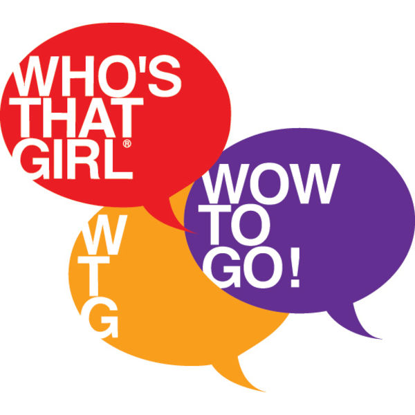 WHO'S THAT GIRL Logo