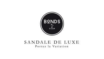 BONDS Sandale de Luxe Logo