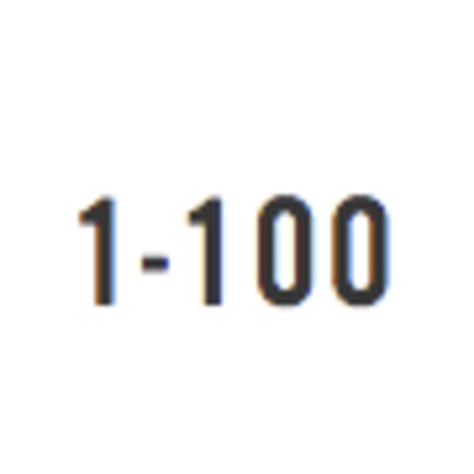 1-100