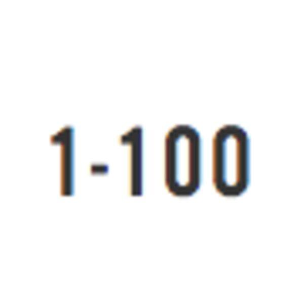 1-100 Logo