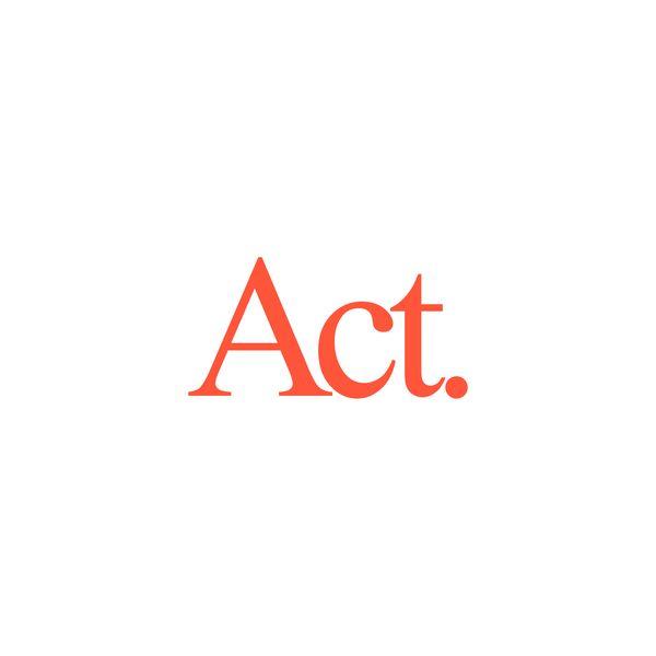 Act. Logo