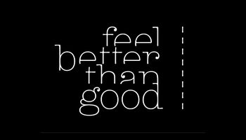 feel better than good Logo