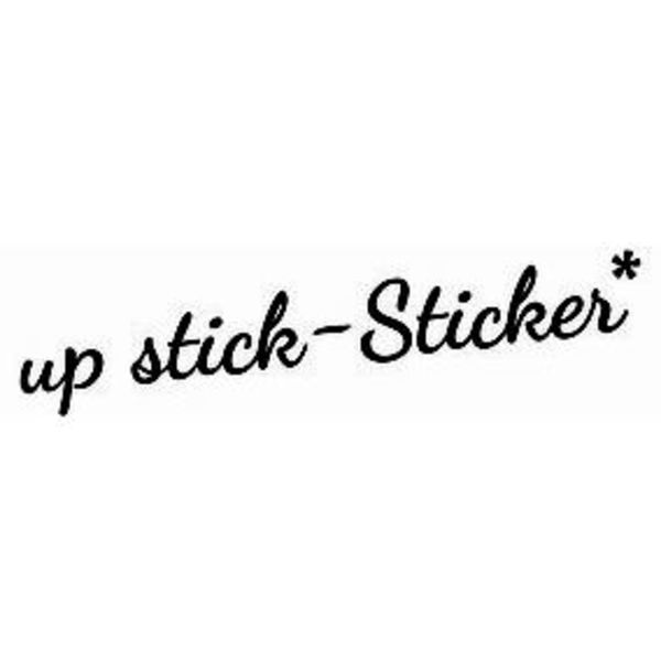 up stick-Sticker Logo