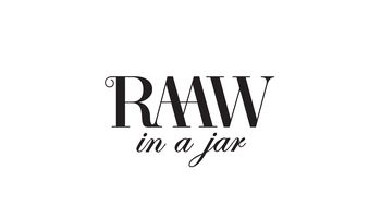 RAAW in a jar Logo
