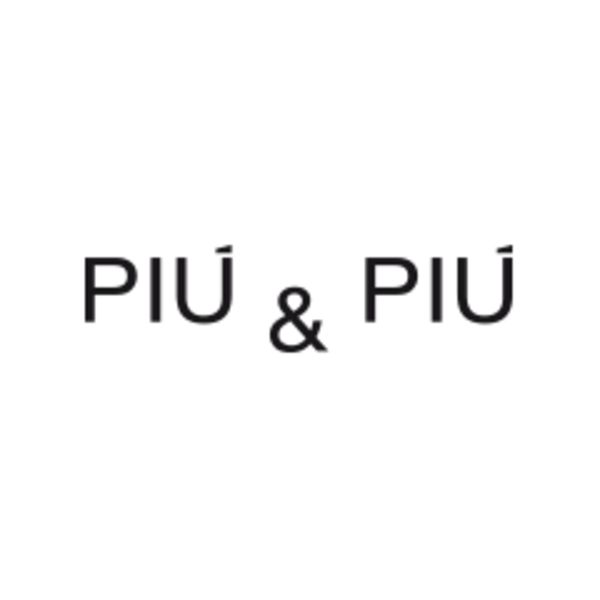 PIÙ & PIÙ Logo