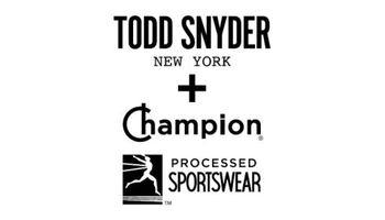 TODD SNYDER + Champion Logo