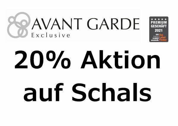 20% Aktion auf Schals