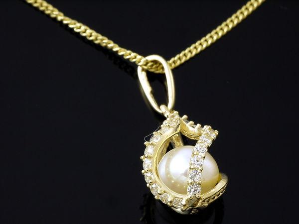 14 Karat Gold Perlen Schmuck