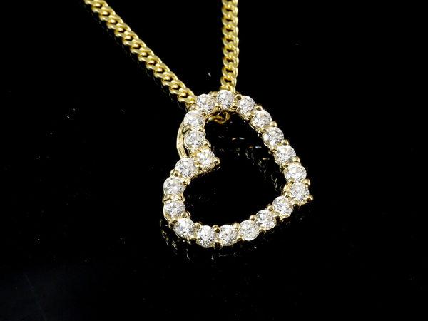 Herz Gold Halskette