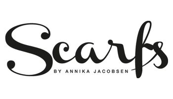 Scarfs by ANNIKA JACOBSEN Logo