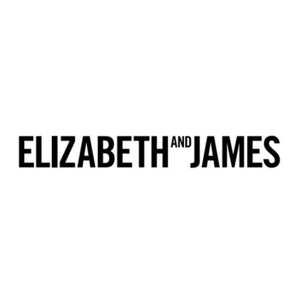 ELIZABETH AND JAMES Logo